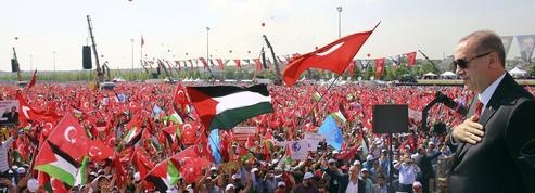 Erdogan réunit le monde musulman autour de l'étendard pro-palestinien