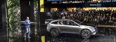 Une Mercedes électrique fabriquée en France