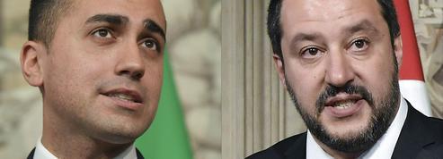 Italie: Luigi Di Maio et Matteo Salvini, les piliers du nouveau gouvernement antisystème