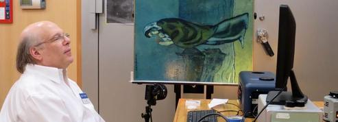 Sous une toile de Picasso, des chercheurs découvrent une page de journal français