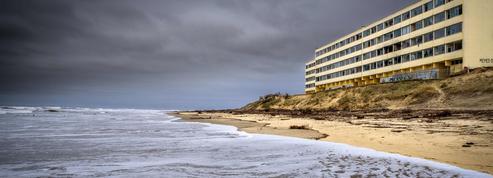 Érosion côtière: Le Signal sur la voie de la destruction