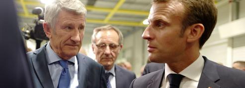 Philippe de Villiers ne tarit pas d'éloges sur Emmanuel Macron