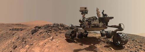Sur Mars, une tempête de sable recouvre toute la planète