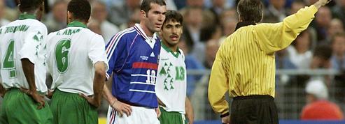 18 juin 1998 : la France écrase l'Arabie Saoudite mais perd Zidane