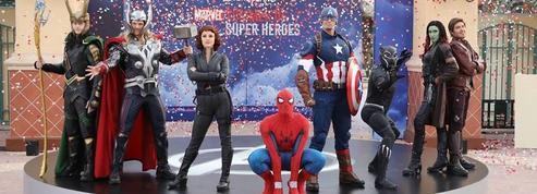 Les super-héros Marvel sur scène à Disneyland Paris