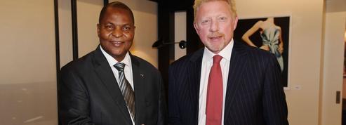 Boris Becker se dit «diplomate de Centrafrique»
