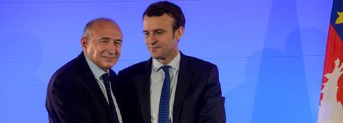 Campagne de Macron : enquête sur le rôle de Lyon, fief de Collomb