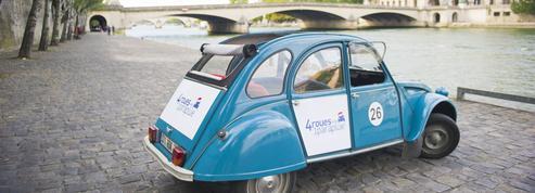 Autant de 2CV à Paris que de gondoles à Venise…