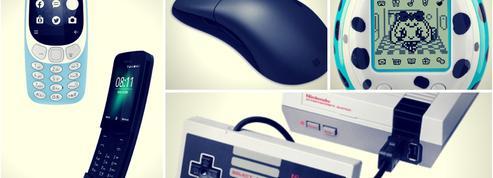 De la souris d'ordinateur aux jeux vidéo, pourquoi les marques regardent dans le rétro