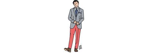 Mode homme: mignonnette mais costaude!