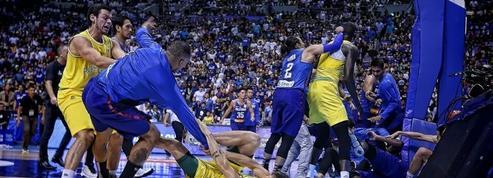 Monstrueuse bagarre générale pendant le match de basket Philippines-Australie