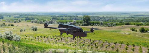 L'envol des drones professionnels