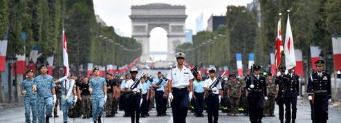 À Paris, un dispositif de sécurité exceptionnel pour le 14 juillet et la finale du Mondial