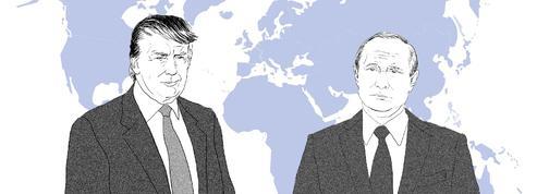 Avec quels dirigeants Trump et Poutine ont-ils le plus de contacts ?