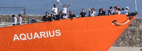 À Lille, 42 rescapés de l'«Aquarius» ont soutenu les Bleus