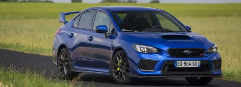 Subaru STI Legend Edition, un véritable feu d'artifice