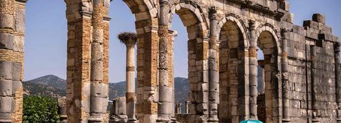 Au Maroc, la cité de Volubilis, deux fois millénaire, entend protéger ses trésors