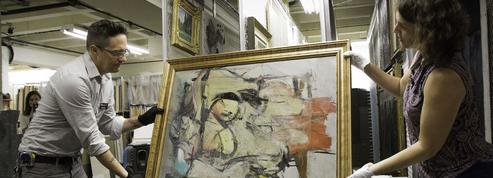 Un couple discret d'enseignants, principaux suspects du vol d'une toile de De Kooning