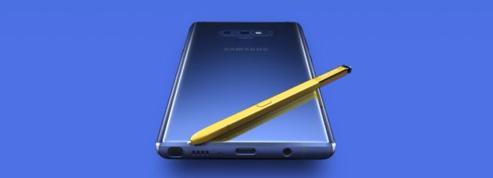 Samsung donne le ton avec le Galaxy Note 9