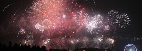 Nice: retour du feu d'artifice sur la promenade des Anglais