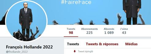 Le mystérieux compte Twitter «François Hollande 2022»