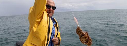 Michel Sapin, spécialiste de la pêche au bar