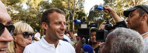 Fin des vacances à Brégançon pour Emmanuel Macron