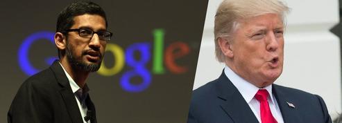 Donald Trump accuse Google d'être «truqué»