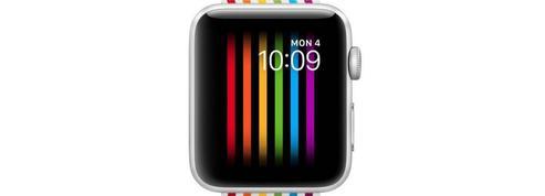 Une édition spéciale «gay pride» de l'Apple Watch indisponible en Russie