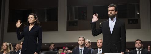 Twitter et Facebook face au Sénat américain