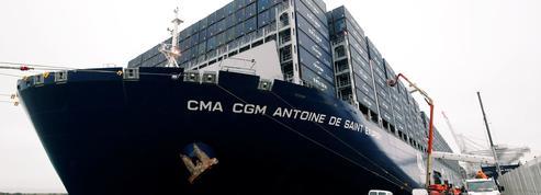 L'armateur CMA CGM et ses concurrents sont engagés dans une course à la taille