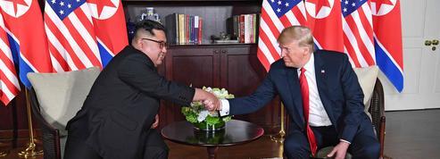 Trump et Kim, aujourd'hui unis pour sauver les apparences
