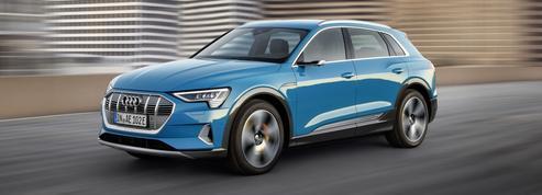 Audi e-Tron, première salve de la grande offensive électrique des anneaux