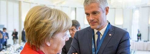 Wauquiez vante Merkel pour critiquer Macron