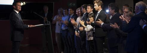À Barcelone, Manuel Valls fait la une des journaux