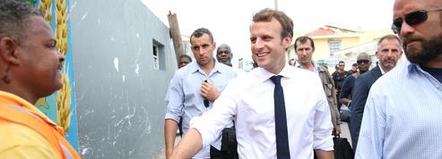 Emmanuel Macron en visite aux Antilles pour renouer avec le terrain