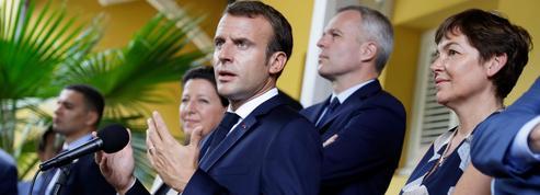 Le cyclone Kirk perturbe la visite de Macron en Martinique