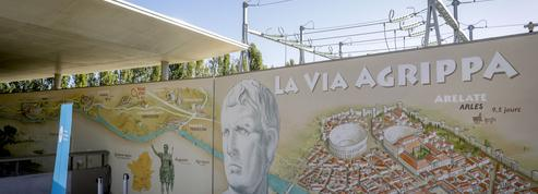 En Provence, le réseau électrique réveille la voie romaine