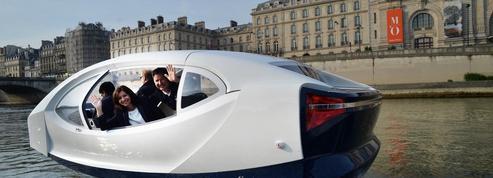 Les bulles de SeaBubbles pourraient naviguer sur la Seine à 40 km/heure