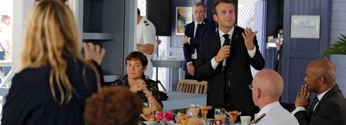 À Saint-Martin, Emmanuel Macron en quête d'un second souffle