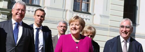 Merkel s'offre une escapade bavaroise aux côtés de la CSU