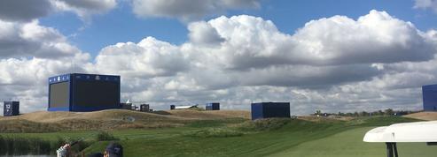 Lendemain de Ryder Cup sur le parcours fantôme du Golf National...