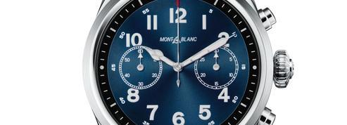 Montblanc se connecte aux codes de l'horlogerie