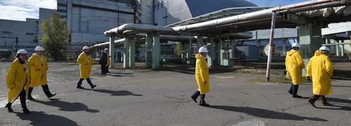 À Tchernobyl, une centrale solaire sur le site de l'ancienne centrale nucléaire