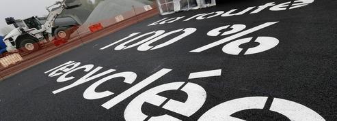 Vinci invente la route entièrement recyclée