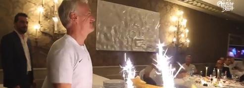 Les Bleus ont fêté les 50 ans de Didier Deschamps