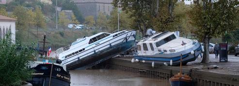 Inondations dans l'Aude : le bilan réévalué à 14 morts et un disparu