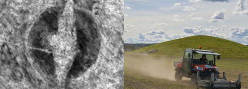 Un grand drakkar, sépulture d'un seigneur viking, découvert en Norvège