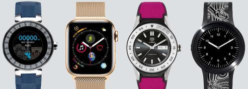 Des montres connectées à l'air du temps
