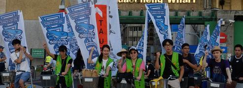 Face à Pékin, les Taïwanais marchent pour l'indépendance